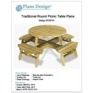 Picnic Table / Benches Woodworking Plans, #ODF03