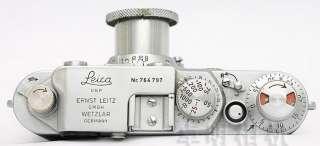 Leica IIF 2F Red Scale +Elmar 50mm F/3.5 *EXC+++* |