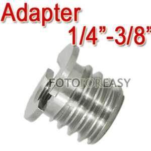 Screw Adapter Manfrotto Benro Tripod Ball Head