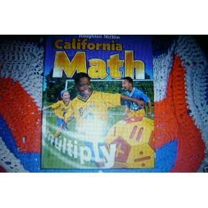 Houghton Mifflin California Math 3rd Grade 3 Books