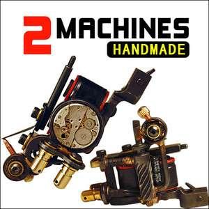 Handmade Cast Iron Tattoo 2 Machine Guns high quality professional
