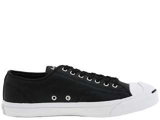 JACK PURCELL LEATHER BLACK MENS US SIZE 9, WOMENS 11