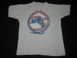1976 LYNYRD SKYNYRD VINTAGE TOUR T SHIRT CONCERT 70s XL