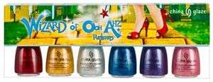 CHINA GLAZE NAIL POLISH WIZARD OF OOH AHZ RETURNS SPECIALTY COLLECTION
