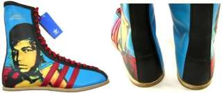 ADIDAS ORIGINALS ALI ANDY WARHOL BOXING BOOTS UK 8.5/ US 9 pop art