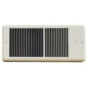 Low Profile 240v Fan Forced Wall Heater w/o Wall Box Color