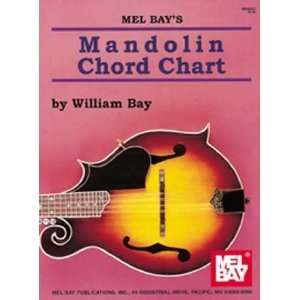 Mel Bay Mandolin Chord Chart [Sheet music] William Bay