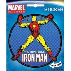 Comics The Invincible Iron Man Die Cut Sticker 45195S Toys & Games