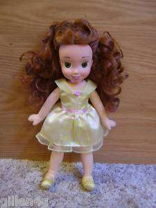 DISNEY PRINCESS 12 BELLE SOFT PLUSH DOLL *LN