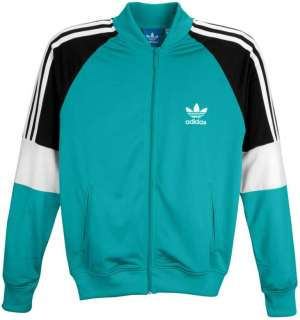 NEW MENS ADIDAS POLYESTER TRACK TOP JACKET RETRO HIPHOP