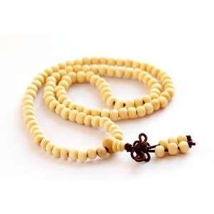 108 Wood Beads Tibetan Buddhist Prayer Japa Mala Necklace Jewelry