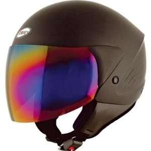 Suomy Jet Light Helmet , Color Soft Black, Size Md