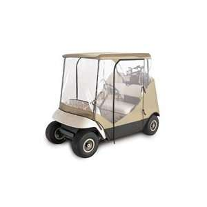 Classic® Deluxe Camo 2   Passenger 4   Sided Golf Cart Enclosure
