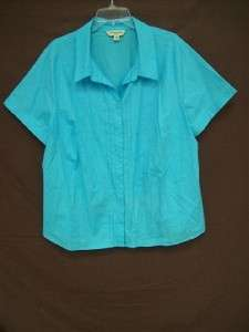 12 Womens Nice Button Up Shirts Size 3XL 22/24 LANE BRYANT And Others