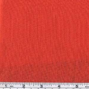60 Wide Medium Weight Irish Linen Red Fabric By The Yard