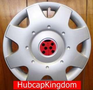 1998 2009 VW BEETLE 16 Ladybug LADY BUG Hubcap SET