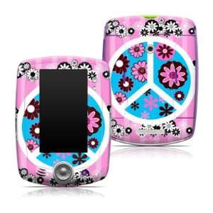 Flowers Pink Design Protective Decal Skin Sticker for LeapFrog LeapPad
