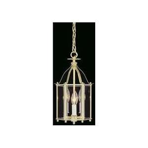 Weathered Brass Larchmont 8 Pendant Clear Glass 3lt