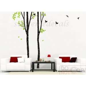 Type A)    8ft 6inch high    Removable vinyl Wall Art Decals Stickers