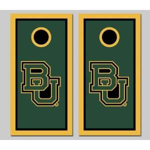 Baylor University Bears Cornhole Bag Toss Game Set