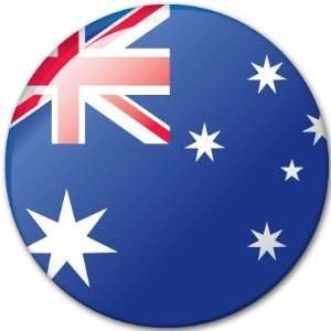 AUSTRALIA Flag car bumper sticker decal 4 x 4
