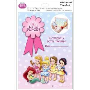Disney Princess Potty Training Chart Reward Kit   1 Each : Toys