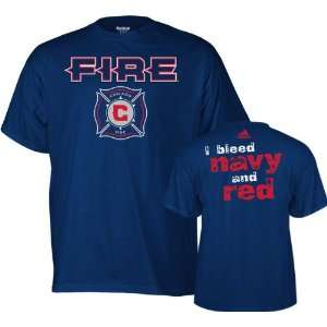 Chicago Fire adidas Navy Forever T Shirt Sports