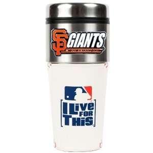 San Francisco Giants 16oz Stainless Steel Gameball Travel
