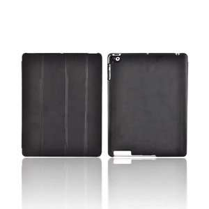 iPad 2 Black Original Naztech Slim Cover Case Stand w Smart Cover