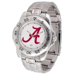 Alabama Crimson Tide Sport Watch W/Stainless Steel Band