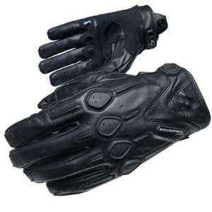 Scorpion Onyx Womens Leather Motorcycle Gloves Black SM Automotive