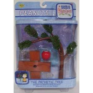 Peanuts Charlie Brown Christmas Pathetic Tree Toys & Games