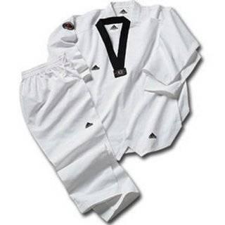 Grand Master Taekwondo Dobok Uniform w/ 3 Stripes