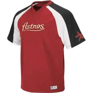 Houston Astros Crusader Pullover Jersey   Brick Red