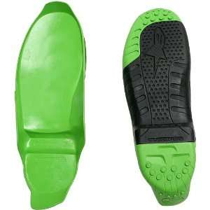 Tech 10 Sole Mens MotoX Motorcycle Boot Accessories   Black/Green