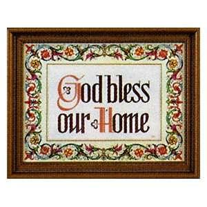House Blessing Framed Print