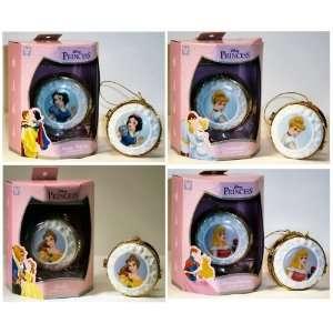 Disney Princess Holiday Ornament 4pc. Set