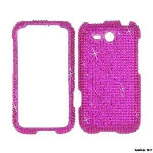 Hot Pink BLING COVER CASE 4 HTC Freestyle