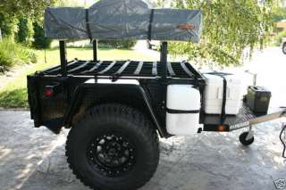 4x4 Military Off Road 4WD Jeep Tent Trailer
