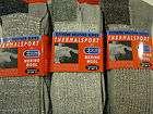 New 6 pair crew Mens warm thermal socks 60% Merino WOOL size 10  13