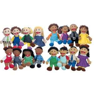 Full Bodied Open Mouth Puppets Set Toys & Games
