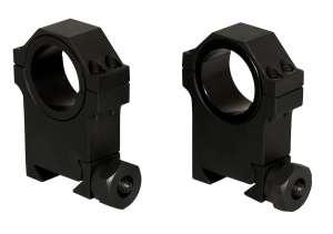 Weaver Style 30MM High Profile Scope Rings (Heavy duty/ 1 insert