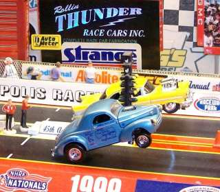 STONE WOODS & COOK 1941 WILLYS NHRA GASSER DRAG RACING LEGENDS LIMITED