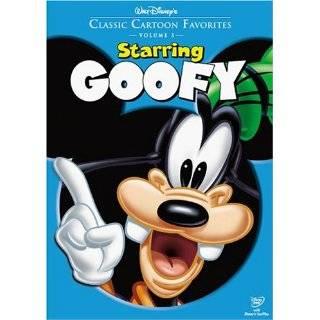 Classic Cartoon Favorites, Vol. 3   Starring Goofy DVD ~ Goofy