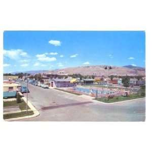National Trailer Park & Sales Postcard Salt Lake City