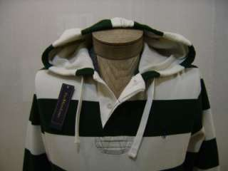 Polo Ralph Lauren Mens Fleece Pony Sweat XL Shirt Sweater Striped