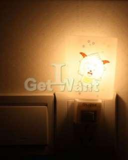 Wall Plug Energy Saving Light Sensor Wall LED Night Light Lamp