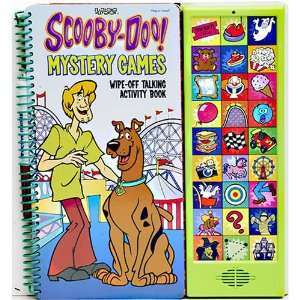 Scooby Doo Mystery Games Book Toys & Games
