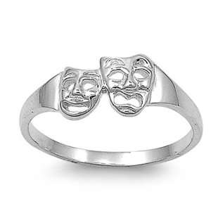 & Engagement Ring Smile Now Cry Later Ring 7MM ( Size 5 to 9) Size 7
