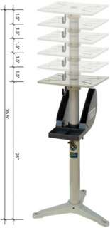 Adjustable Pedestal stand for Buffing Machines